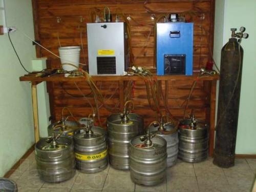 Охладитель для разливного пива