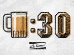 01-beer-time-thirty-clock